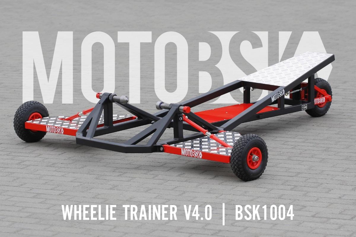 Wheelie Machine Folding Motorcycle Wheelie Trainer