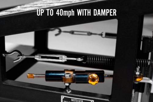 Damper for the Wheelie Machine