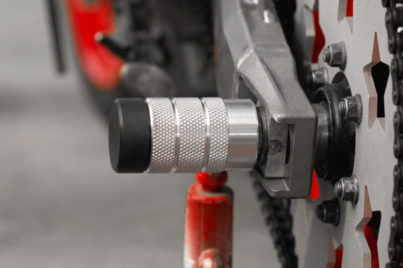 Front and Rear Stunt Pegs (Universal Motorcycle Wheel Sliders)