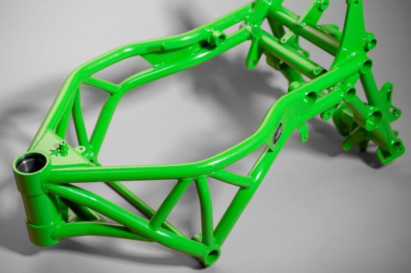Full Steel Stunt Frame Kawasaki zx6r 2005-2006 (636)