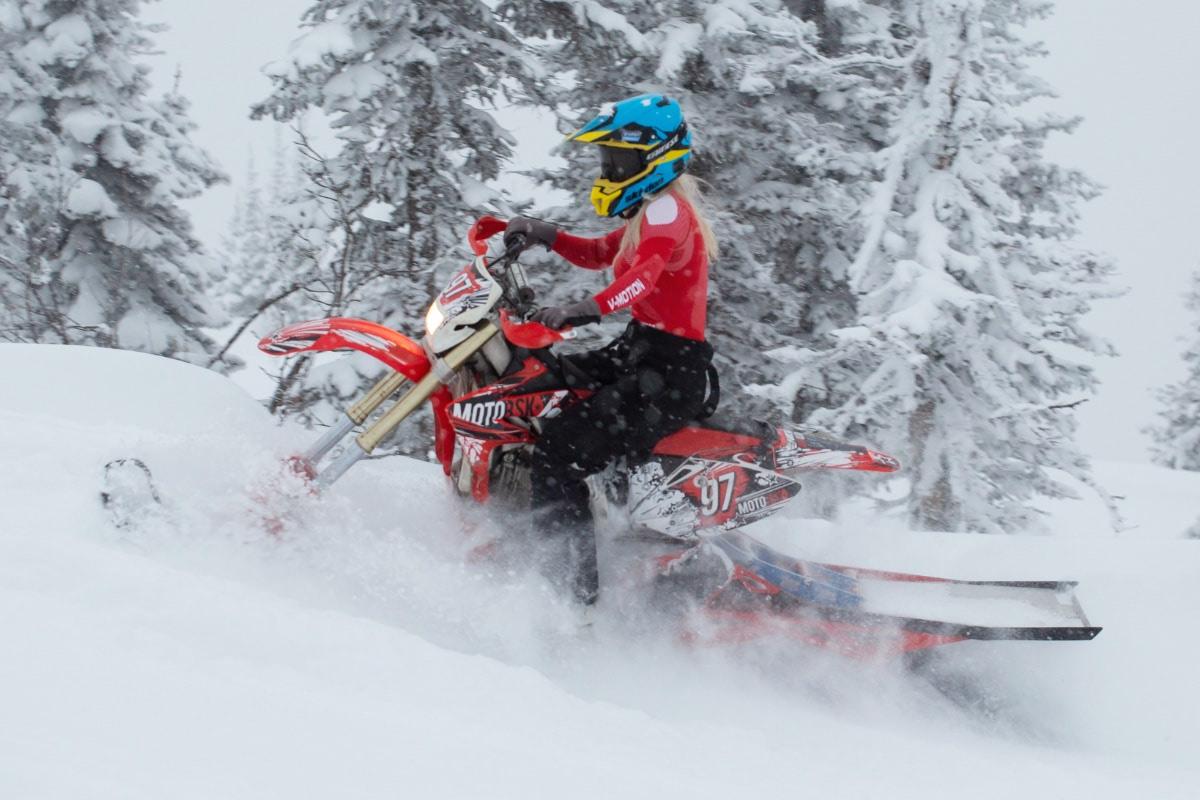 SNOW BIKE KIT for SNOWRIDING V3.0 by MOTOBSK (FREE SHIPPING)