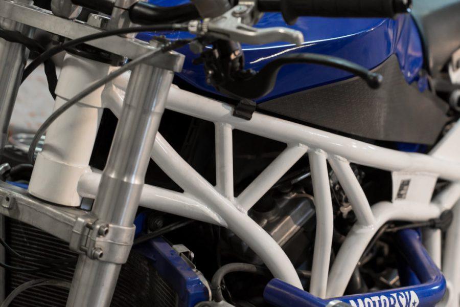 Full Steel Stunt Frame Kawasaki zx6r 2007-2008 (636)