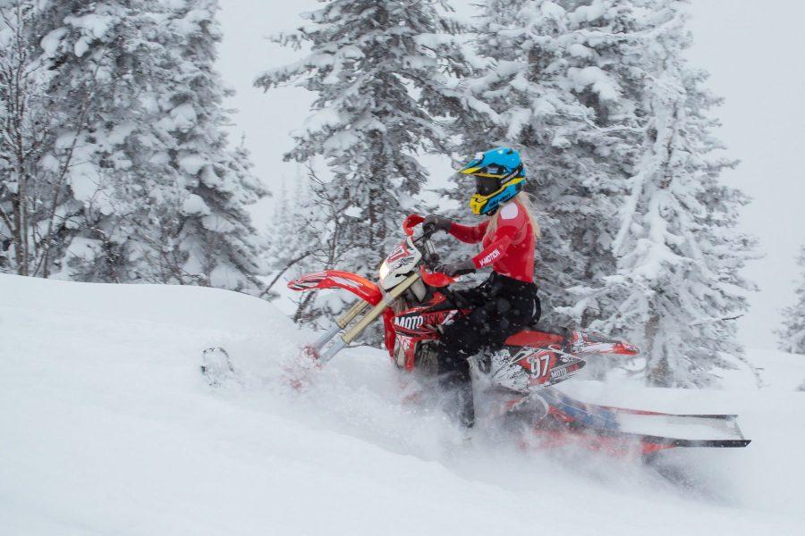 Snowbike Kit for Snowriding by MOTOBSK