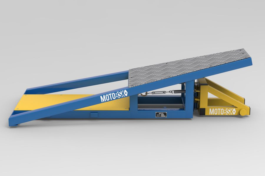 Base for the Wheelie Machine by MOTOBSK