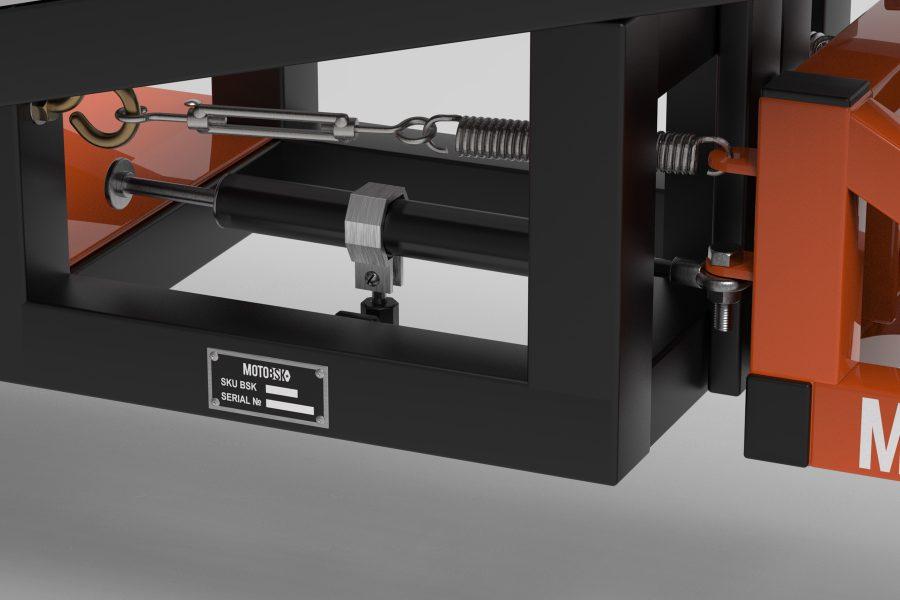 Damper for the Wheelie Machine by MOTOBSK