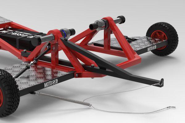 Stunt Rod for the Wheelie Machine by MOTOBSK