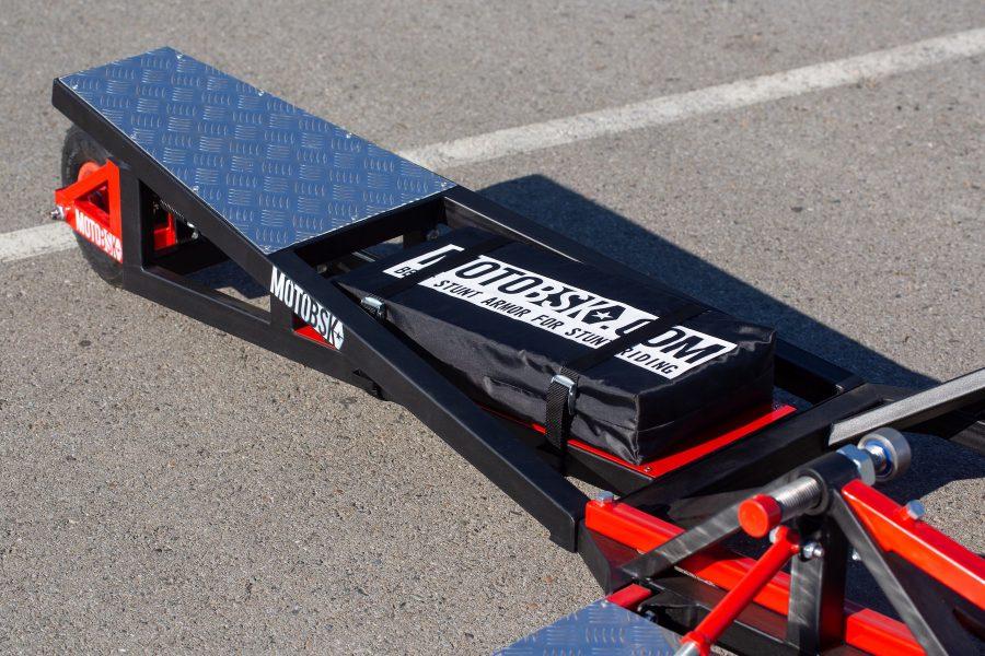 Stunt Mat for the Wheelie Machine by MOTOBSK