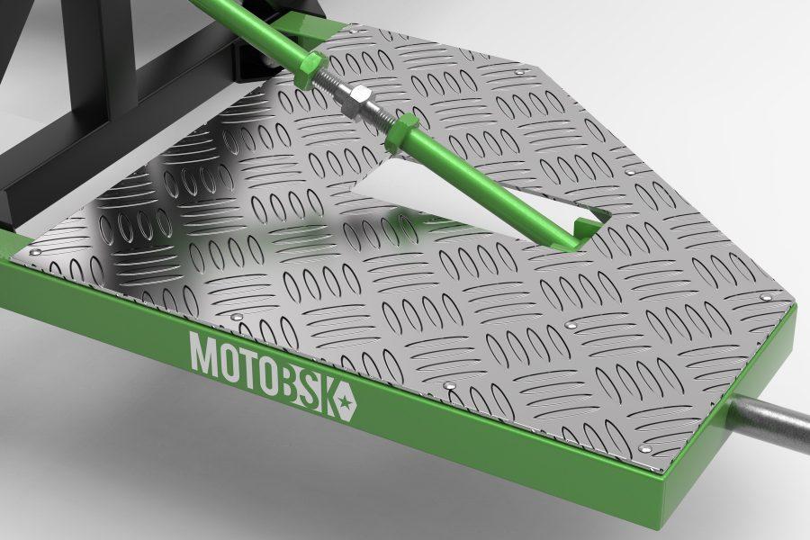 Stunt Footboards for the Wheelie Machine by MOTOBSK